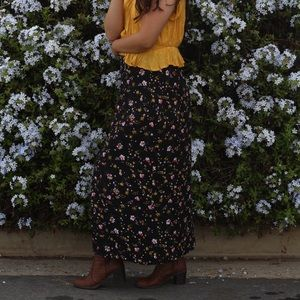 Floral Arizona jean co maxi